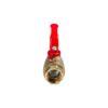 Усиленный латунный шаровый кран Дист Ду15,  ВР/ВР, ручка — рычаг