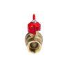 Усиленный латунный шаровый кран Дист Ду20, ВР/НР, ручка — бабочка